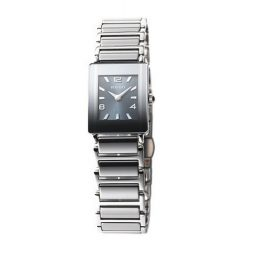 Rado Silver Ceramic Gray dial Watch for Women's R20488202