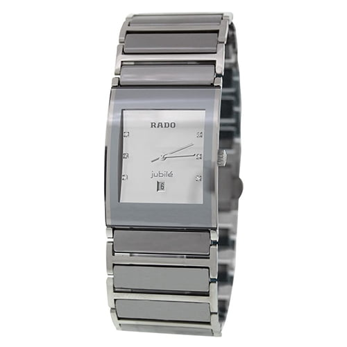 Rado Silver Ceramic White dial Watch for Women's R20747102
