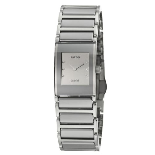 Rado Silver Ceramic Silver dial Watch for Women's R20747712