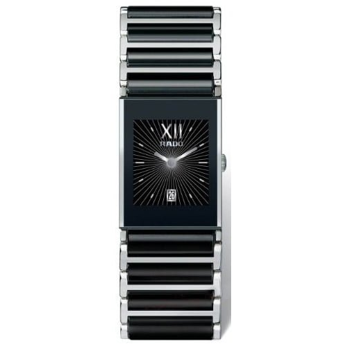 Rado Two Tone Ceramic Black dial Watch for Women's R20785172