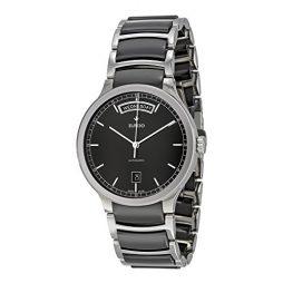 Rado Black Stainless Black dial Watch for Men's R30156152