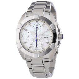 Seiko Silver Stainless White dial Watch for Men's SNDZ19