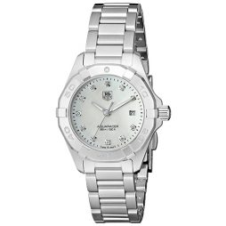 Tag Heuer Silver Stainless White dial Watch for Women's WAY1413.BA0920