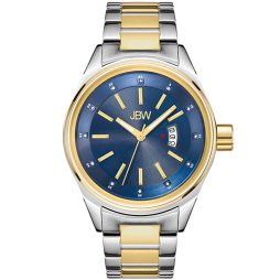 JBW Two Tone Stainless Blue dial Watch for Men's J6287N