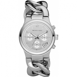 Michael Kors Silver Stainless Silver dial Watch for Women's MK3149