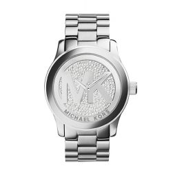 Michael Kors Silver Stainless Silver dial Watch for Women's MK5544