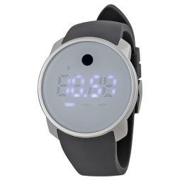 Movado Gray Silicone Purple dial Watch for Women's 3600253