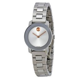 Movado Silver Stainless Silver dial Watch for Women's 3600234