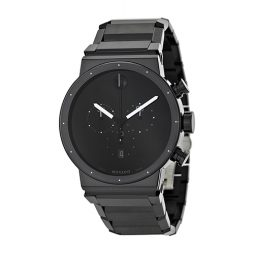 Movado Black Stainless Black dial Watch for Men's 0606801