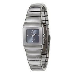 Rado Silver Ceramic Silver dial Watch for Women's R13334762