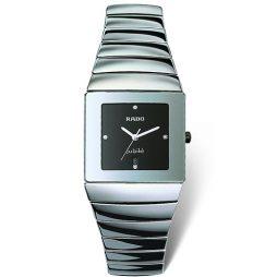 Rado Gray Ceramic Black dial Watch for Men's R13432732