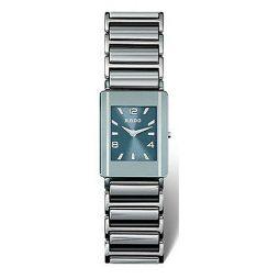 Rado Silver Ceramic Blue dial Watch for Men's R20484202