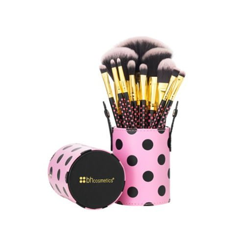 11 pc Pink-A-Dot Brush Set