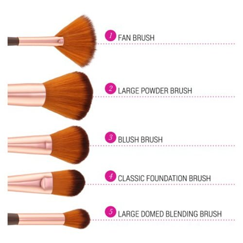 Shimmering Bronze - 12 Piece Brush Set