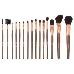 15 pc Rose Gold Brush Set