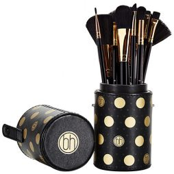 Dot Collection - 11 Piece Brush Set Black