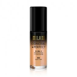 CONCEAL + PERFECT 2-IN-1 FOUNDATION + CONCEALER  LIGHT TAN