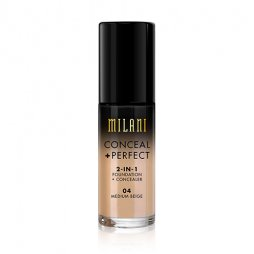 CONCEAL + PERFECT 2-IN-1 FOUNDATION + CONCEALER MEDIUM BEIGE