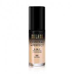 CONCEAL + PERFECT 2-IN-1 FOUNDATION + CONCEALER NATURAL