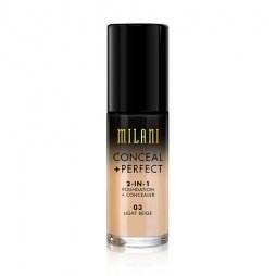 CONCEAL + PERFECT 2-IN-1 FOUNDATION + CONCEALER LIGHT BEIGE