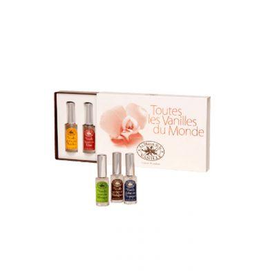 Les Vanilles du Monde Perfume Set by La Maison de la Vanille