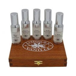 Wooden box 30 ml each