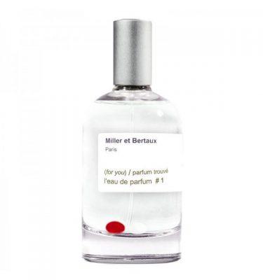 l'eau de parfum #1 BY Miller et Bertaux